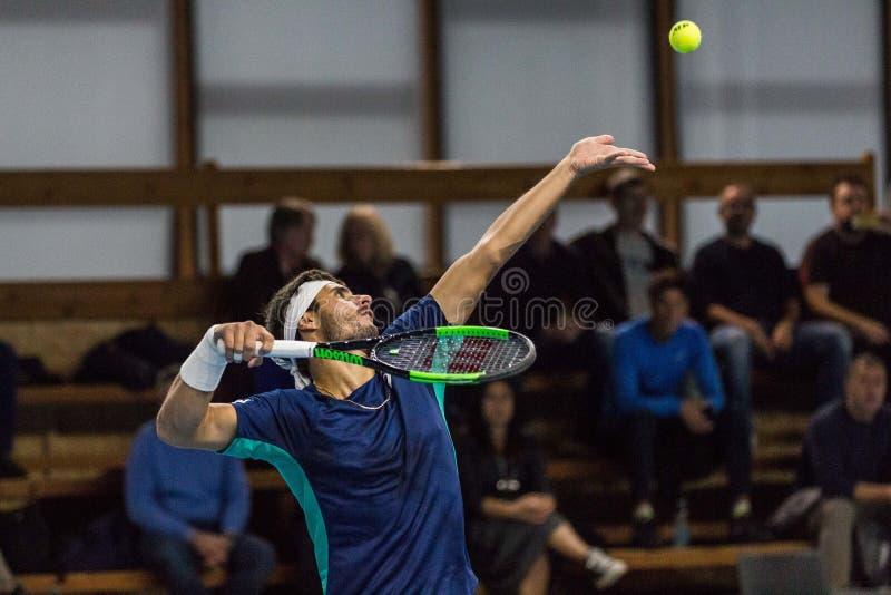 Tennis Internationals NextGen ATP-kvalifikationer royaltyfria bilder