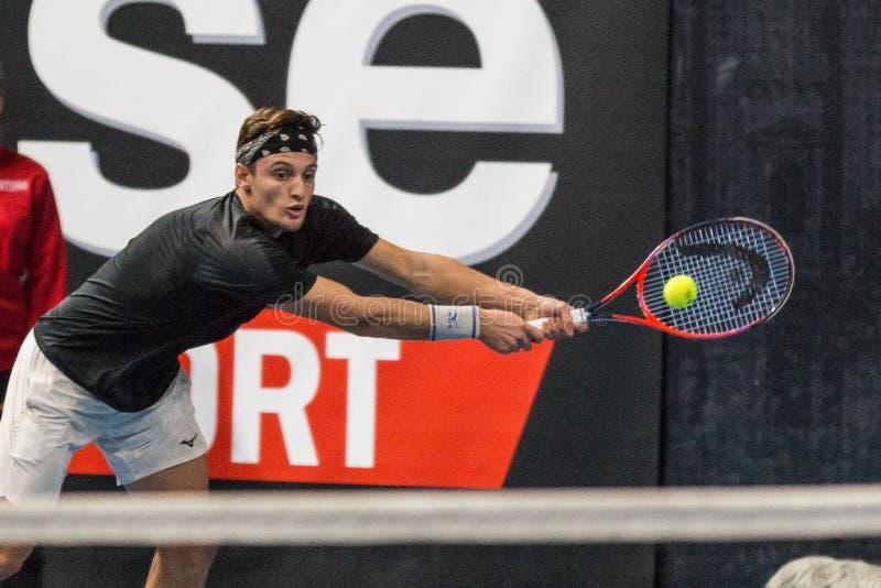 Tennis Internationals NextGen ATP-kvalifikationer royaltyfri bild