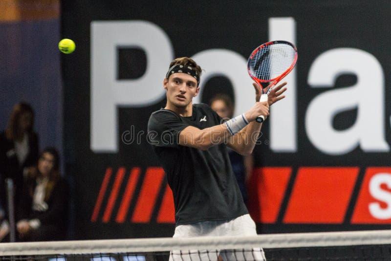 Tennis Internationals NextGen ATP-kvalifikationer royaltyfri fotografi