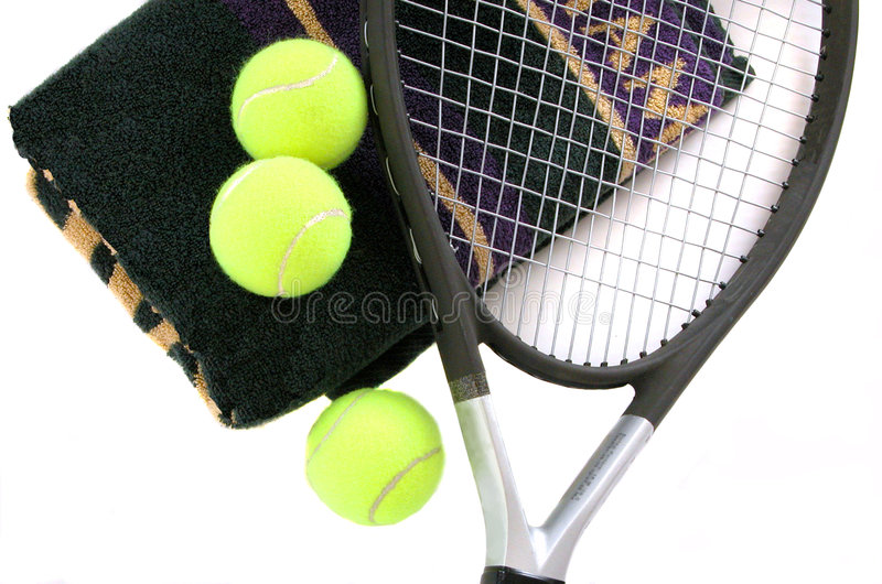 Tennis-Kugeln lizenzfreie stockbilder