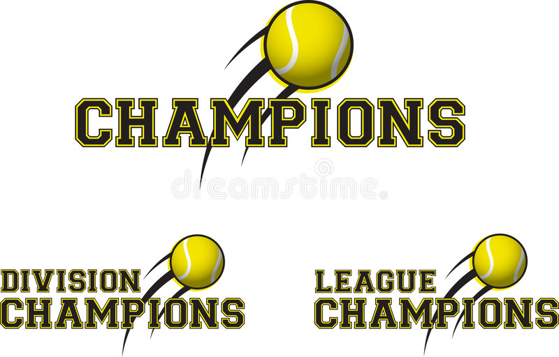 Download Tennis logos stock vector. Image of champs, letterhead - 1709402