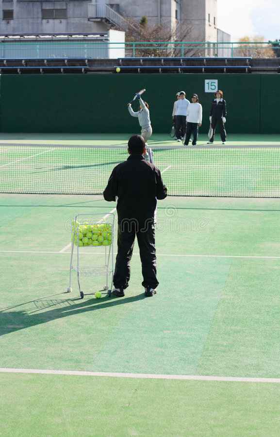 Download Tennis Moments 3.... Stock Photo - Image: 1832040