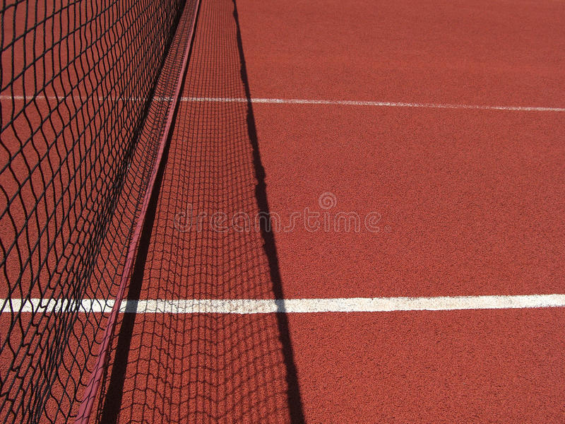 Tennis net stock photography