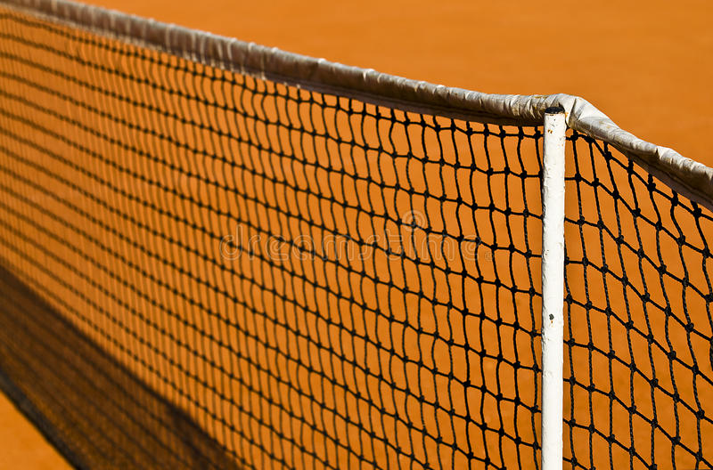 Download Tennis net and clay stock image. Image of health, clay - 15119835