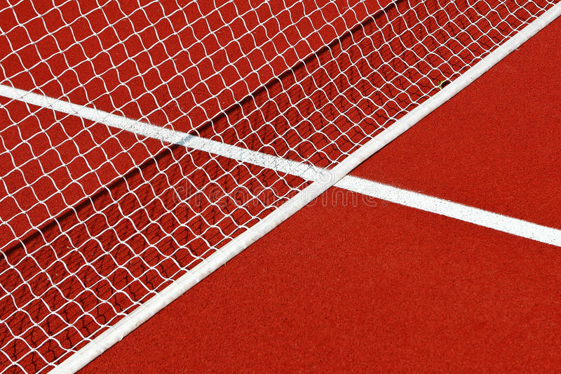 Download Tennis net and lines stock image. Image of court, court - 27191915