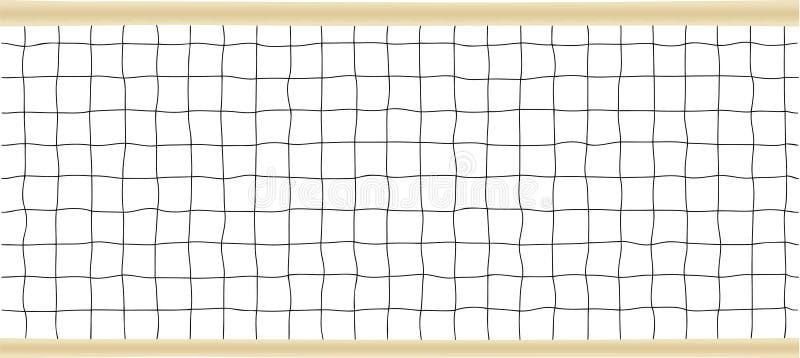 Tennis-oder Volleyball-Nettovektorabbildung vektor abbildung