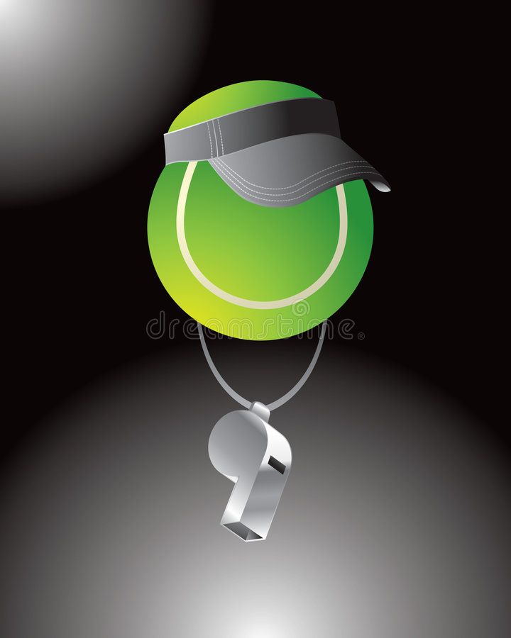 Tennis Official Royalty Free Stock Photo