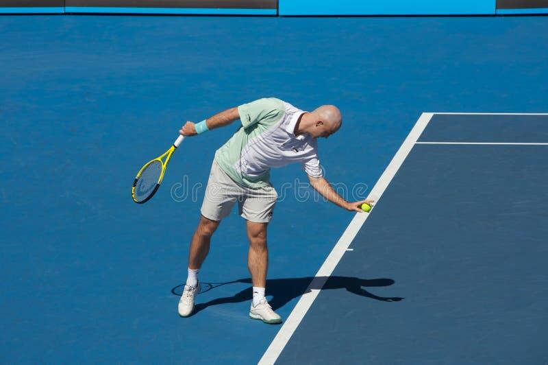 Tennis ouvert 2010 d'Australien photos libres de droits