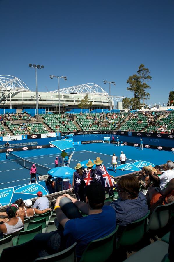 Tennis ouvert d'Australien images libres de droits