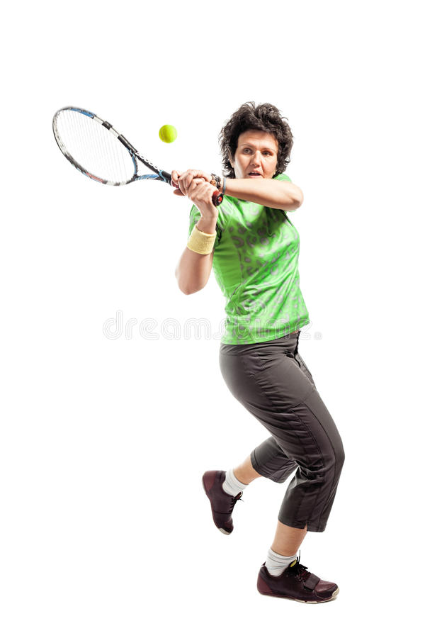 Download Tennis player stock image. Image of racket, model, adult - 26953849
