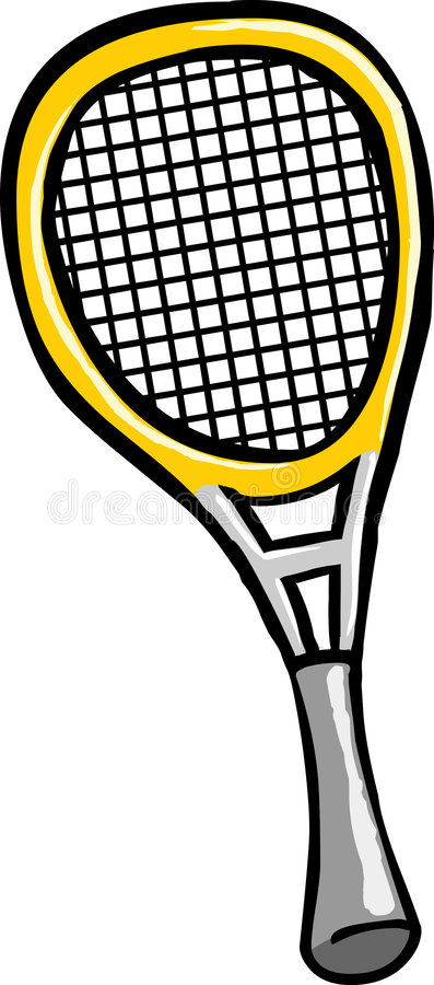 Download Tennis Racket stock vector. Image of sport, drawing, gear - 2780130