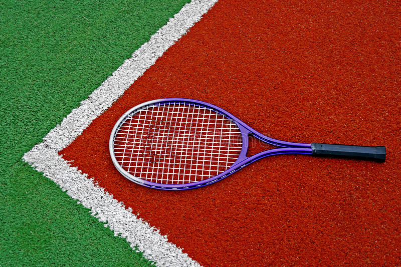 Download Tennis Racket stock photo. Image of corner, ground, multicolored - 29256288