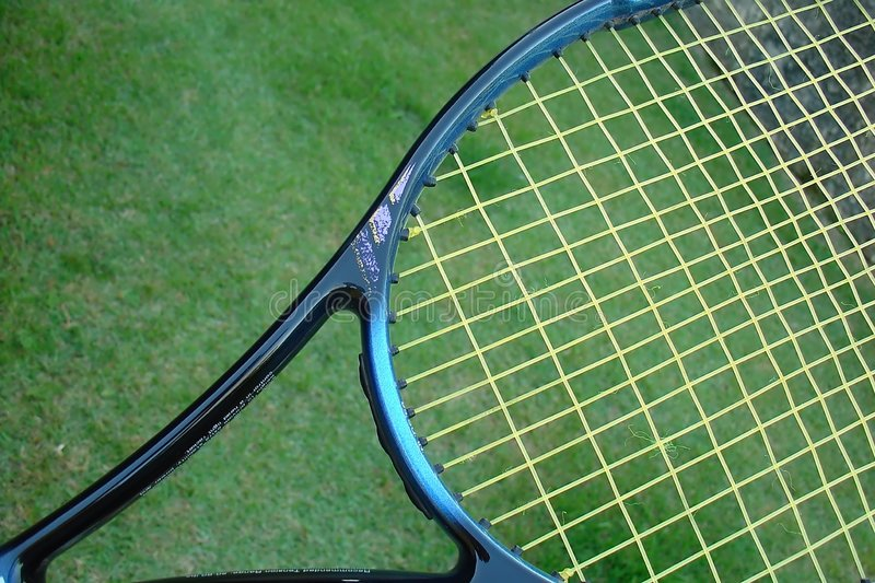 Tennis racket stock images