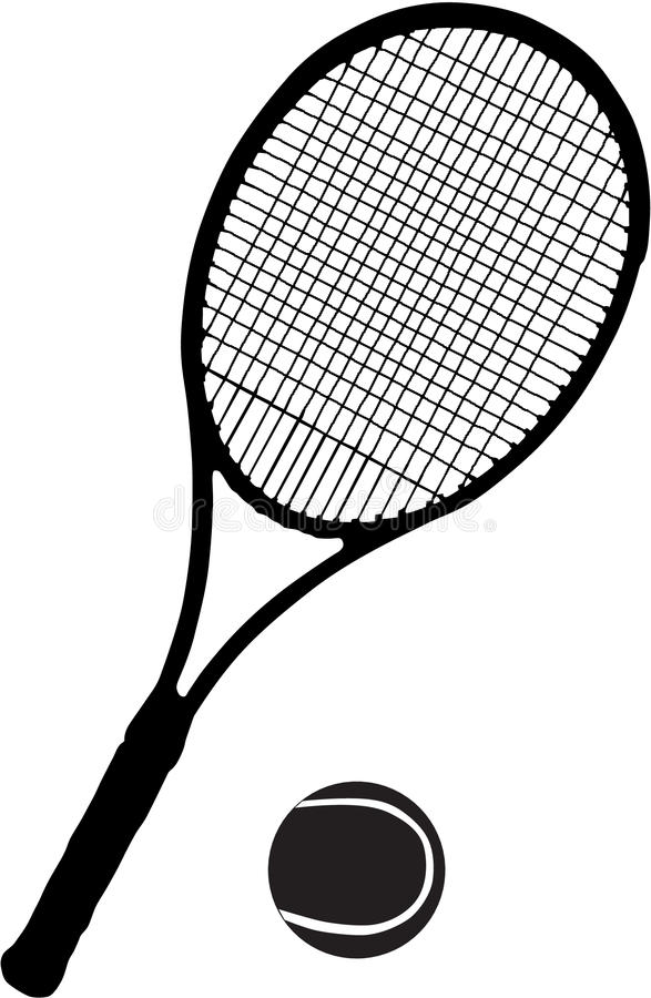 Download Tennis racket and ball stock vector. Illustration of movement - 11621849