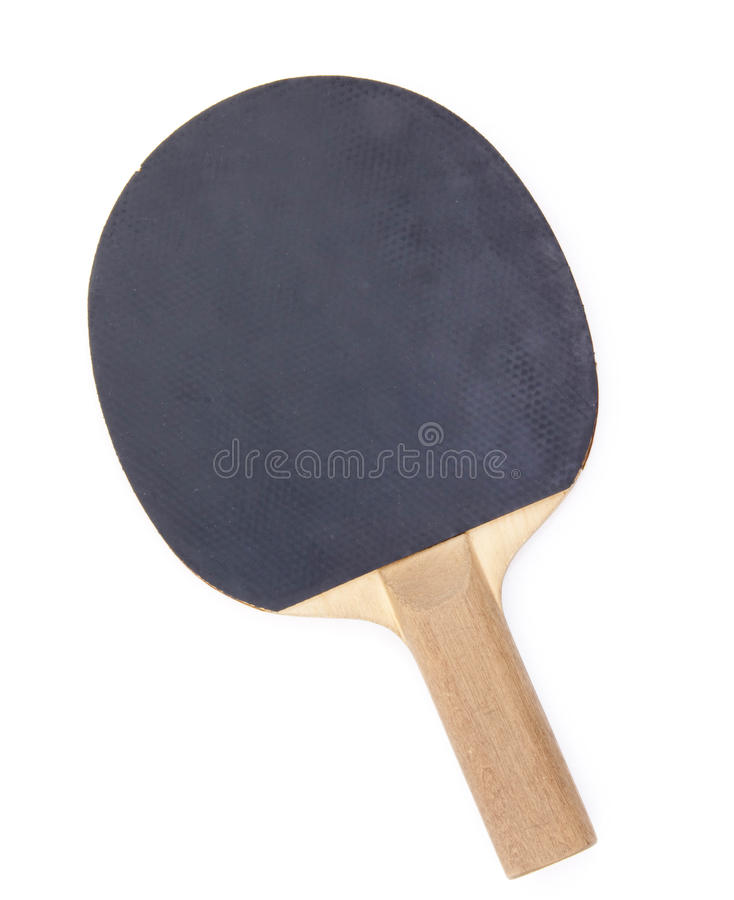 Tennis racket isolated on white royalty free stock image
