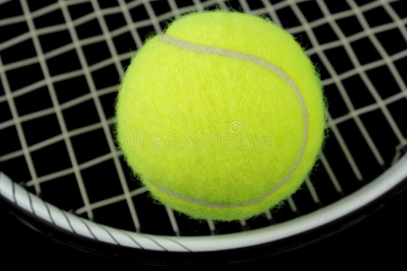 Download Tennis Racket And Tennis Ball Stock Photo - Image: 22167866