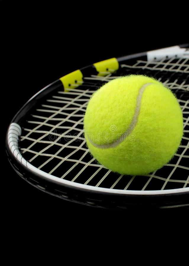 Tennis racket, tennis ball