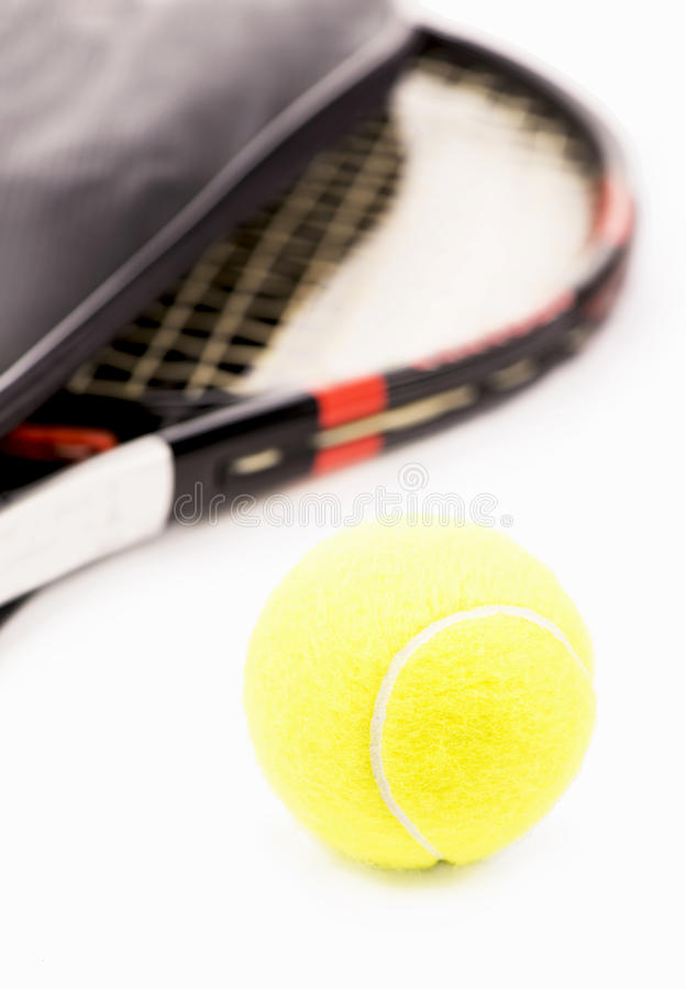 Download Tennis racquet and ball stock illustration. Illustration of exercise - 31037104