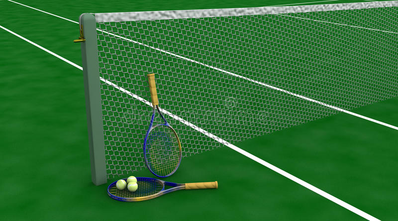 Download Tennis Racquet And Balls Stock Images - Image: 9578484