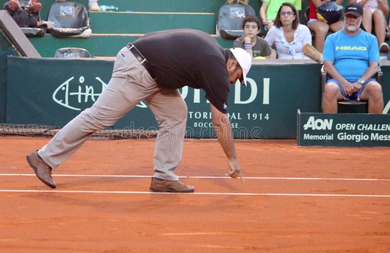 Tennis referee