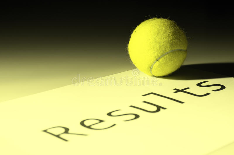 Download Tennis results stock photo. Image of equipment, concept - 12289952