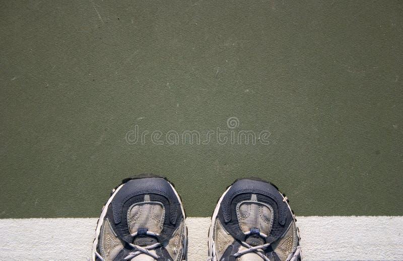 Tennis-Schuhe lizenzfreie stockfotografie
