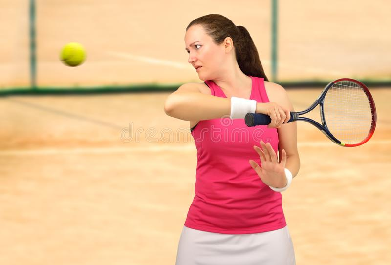This tennis set is mine stock image