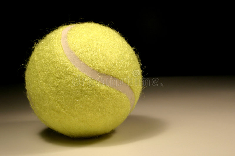 Tennis-sfera fotografie stock