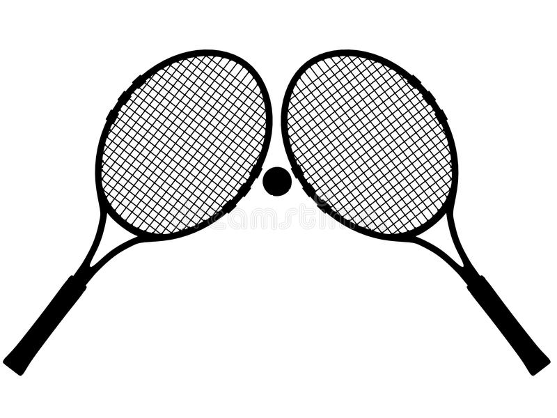 Download Tennis silhouette stock illustration. Image of tennis - 22132084