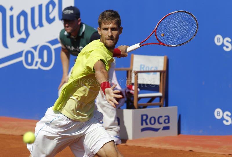 Tennis slovacco Martin Klizan fotografie stock