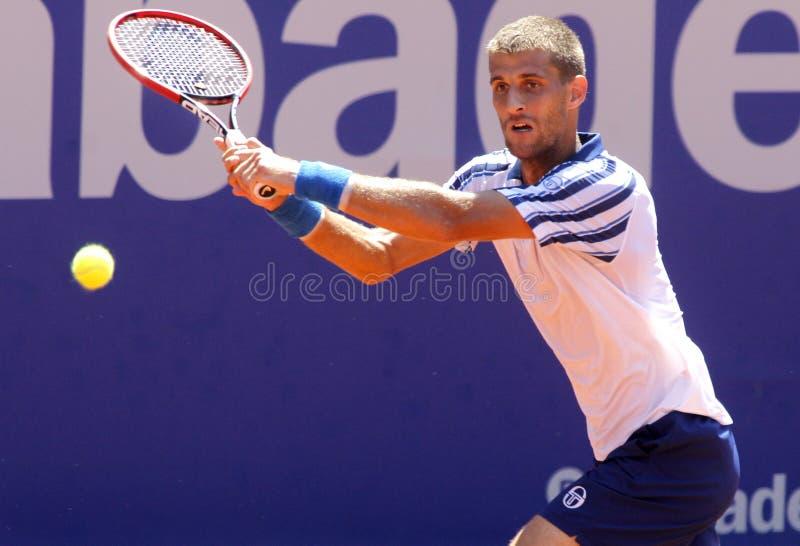 Tennis slovacco Martin Klizan fotografie stock libere da diritti