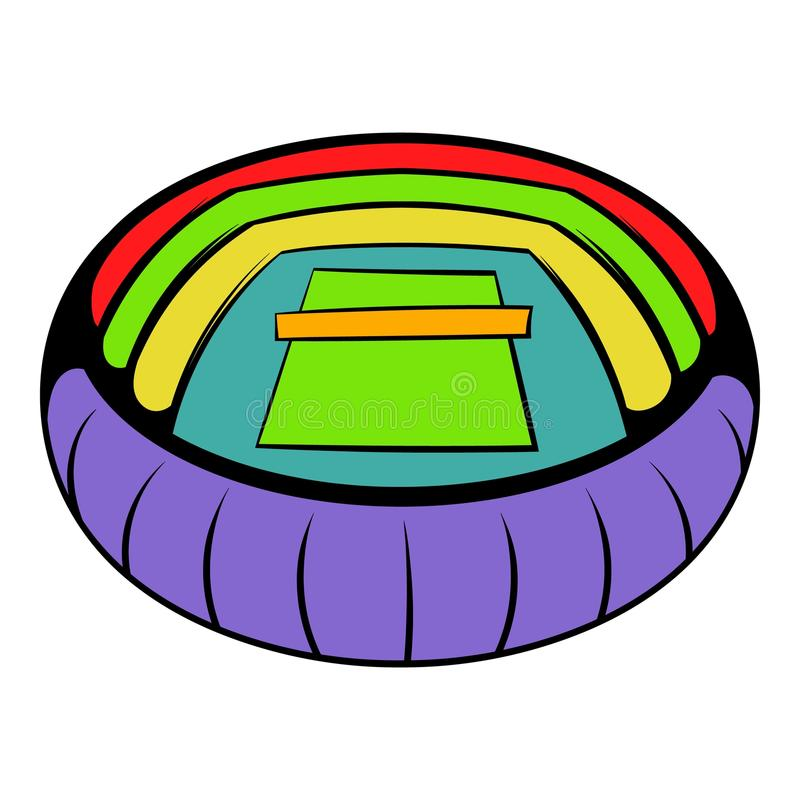stadium icon. Download Tennis Stadium Icon, Icon Cartoon Stock Vector - Image: 88304649