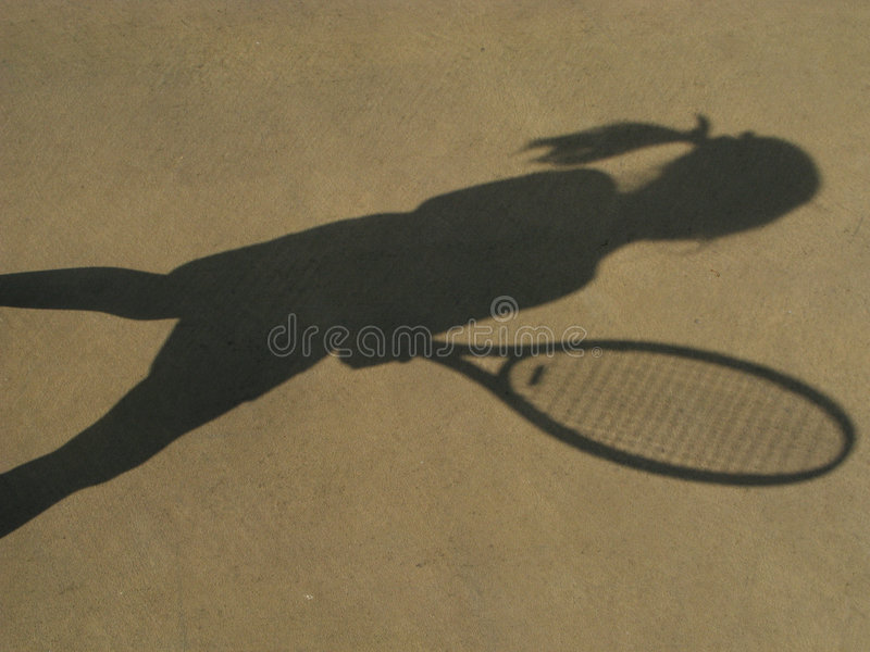 Tennis star royalty free stock images