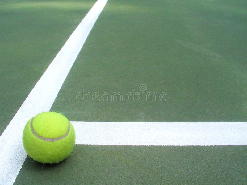 Tennis to the T royalty free stock image