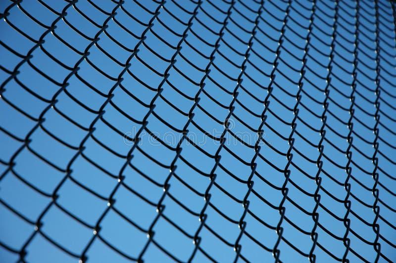 Tennis-Zaun-Muster stockbild