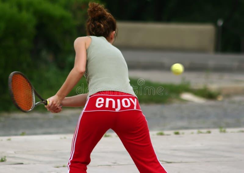 Tennis2 lizenzfreie stockfotografie