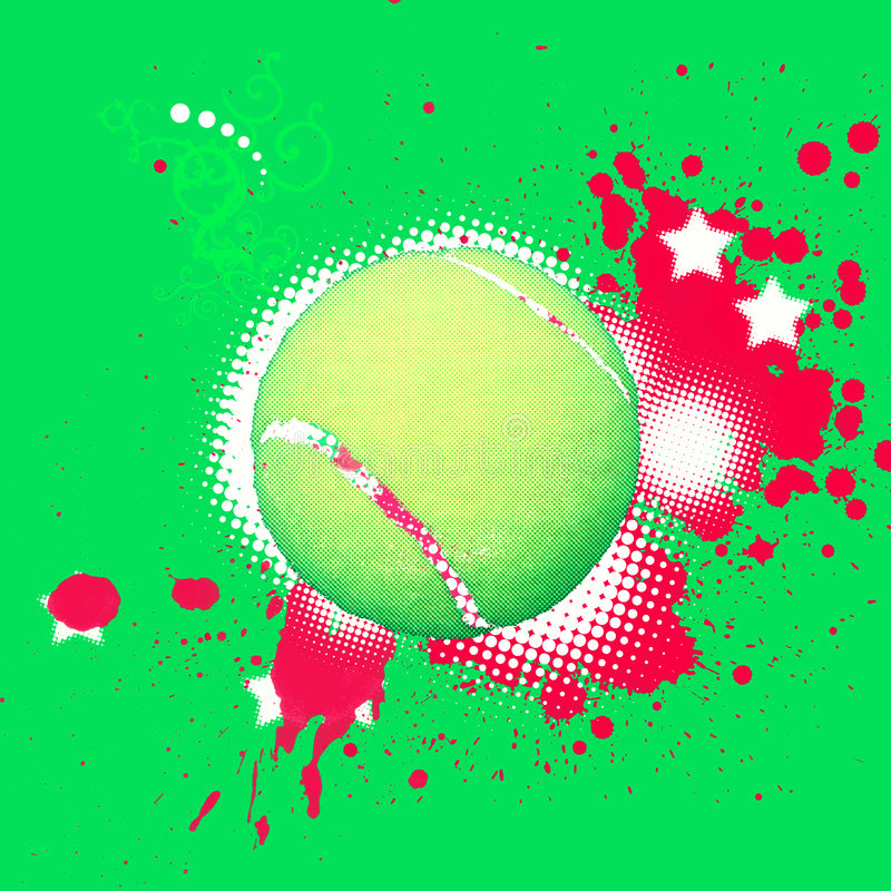 Tennisball vector illustration