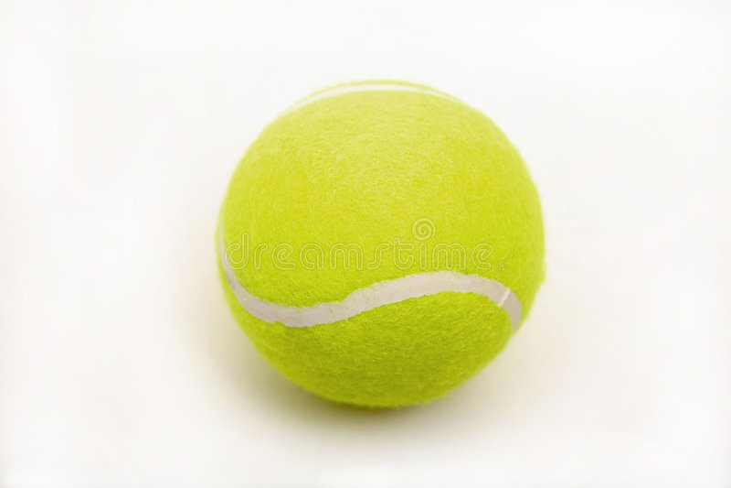 tennisball royaltyfri fotografi