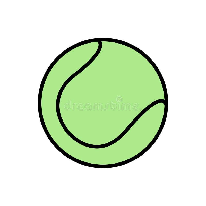 Tennisball-Fülle-Entwurf lizenzfreie stockfotos