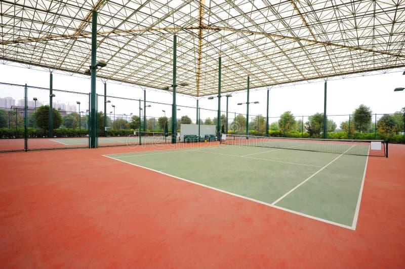 Tennisbana fotografering för bildbyråer