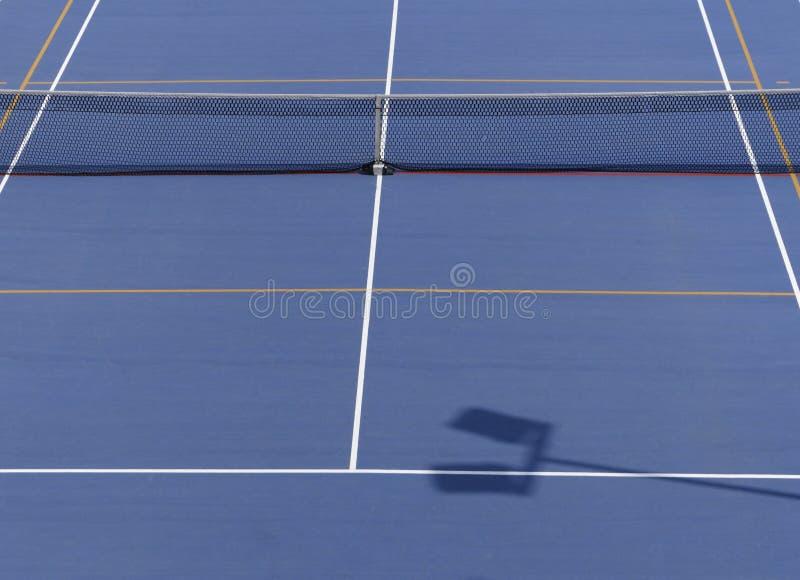 Tennisbana från över royaltyfria bilder