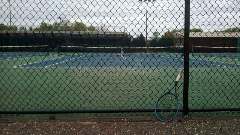 Tennisbanor royaltyfri bild
