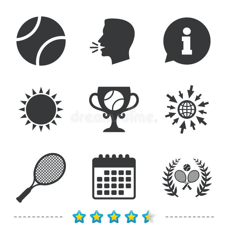 Tennisboll och racketsymboler några är kan formatet för förlust för illustrationbildlagrar skalapd det upplösning till vektorkran vektor illustrationer