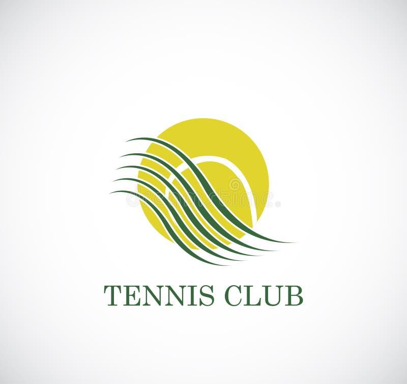 Tennisclub vector illustratie