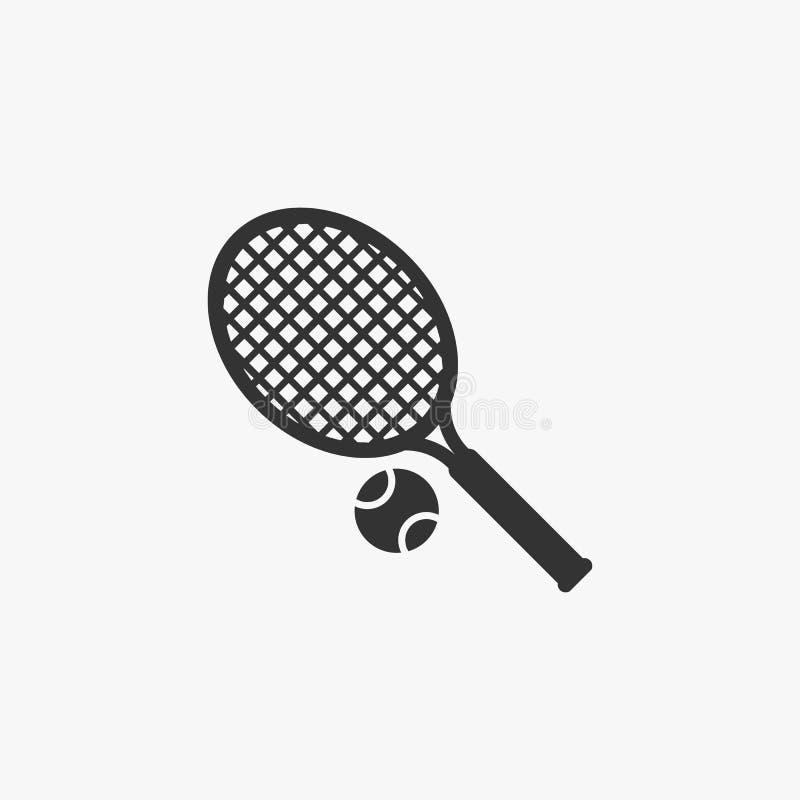 Tennisikone, Sport, Spiel, Rasentennis lizenzfreie abbildung