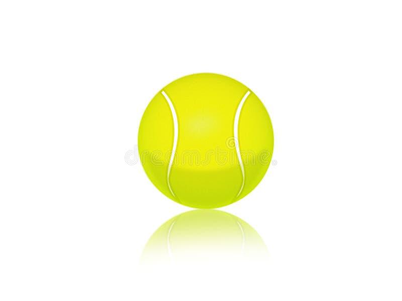 Tenniskugel vektor abbildung
