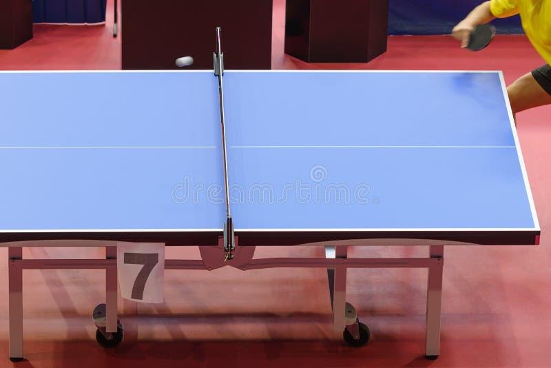 Tennislijst bij competities royalty-vrije stock afbeeldingen