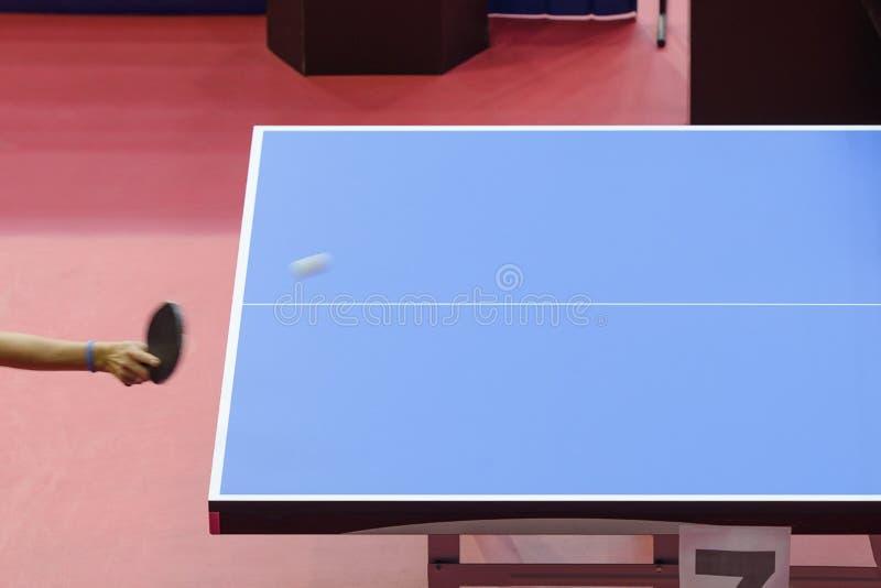 Tennislijst bij competities stock afbeelding