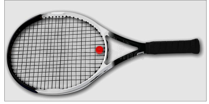 Tennisracket royalty-vrije stock afbeeldingen