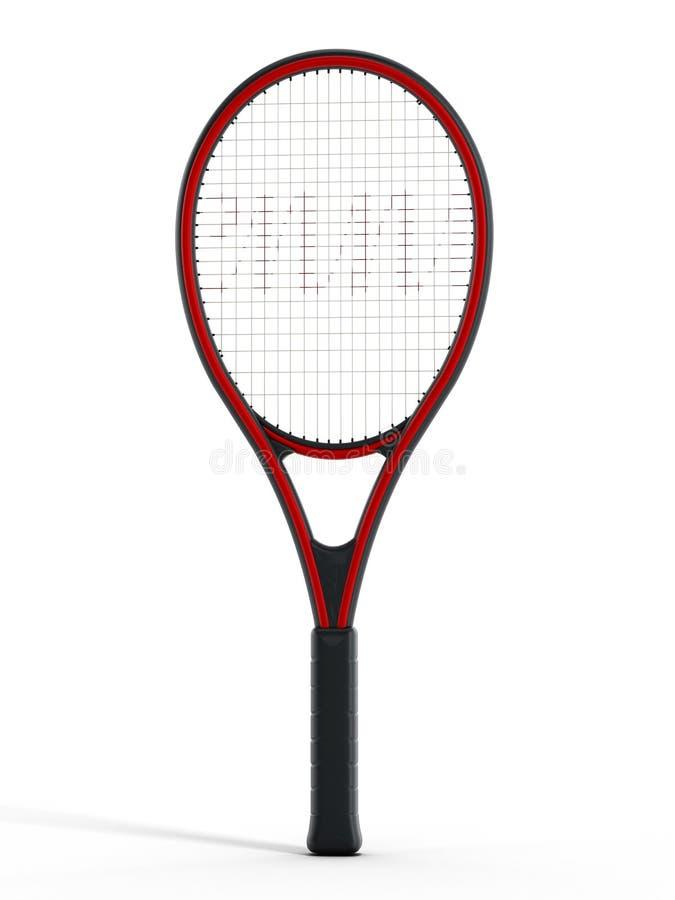 Tennisracket stock afbeelding